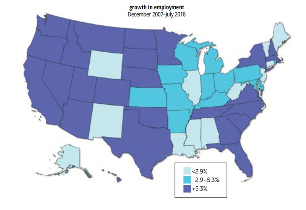 State E&E = Job & Wage Growth Often Go Together