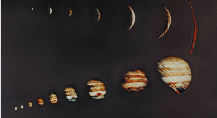 Microscopic atmospheric particles & Pioneer 10